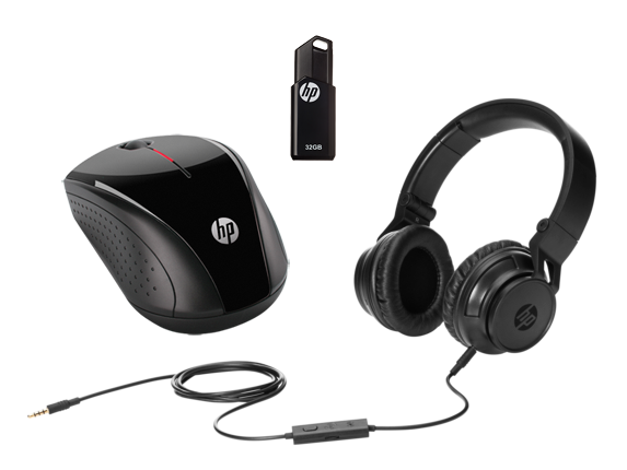 HP Accessory Kit: Headset, Mouse, Flash Drive