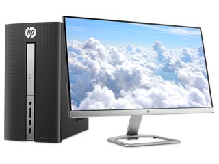 HP Pavilion Desktop - 570 + 23er Monitor