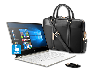 HP Spectre - 13 Laptop, Topload Case, + Gold Wireless Mouse Bundle - Img_Center_320_240