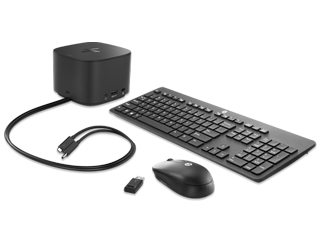 HP 230W Thunderbolt Dock G2 + Wireless Keyboard and Mouse Bundle - Img_Center_320_240