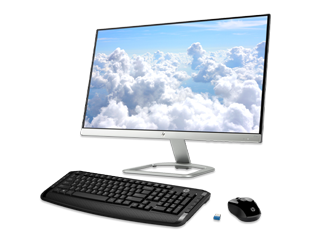 """HP 23"""" Monitor + Wireless Keyboard and Mouse Combo Bundle - Img_Center_320_240"""