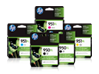 HP 950XL/951XL High Yield Black and High Yield Color Ink Cartridge Bundle
