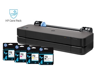 HP DesignJet T230 + Ink + Care Pack Bundle - Img_Center_320_240