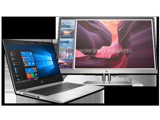 "HP EliteBook 735 G6 Notebook + 21.5"" Docking Monitor Bundle - Img_Center_320_240"