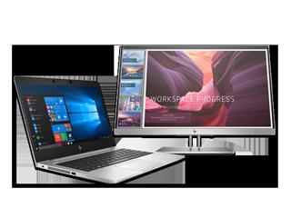 "HP EliteBook 735 G6 Touch Notebook + 21.5"" Docking Monitor Bundle - Img_Center_320_240"