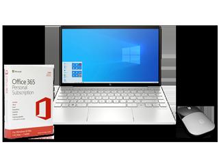 "HP ENVY 13"" Laptop, 1-Year Microsoft 365 Personal + Wireless Mouse Bundle - Img_Center_320_240"