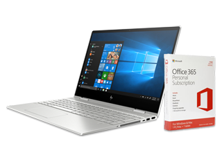 "HP ENVY x360 15"" PC + Microsoft Office 365 Personal (download) Bundle - Img_Center_320_240"