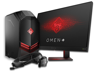 HP OMEN Desktop, Display + Mixed Reality Headset Bundle - Img_Center_320_240