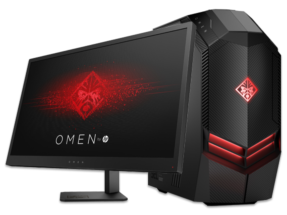 "OMEN by HP 880 Desktop + OMEN 25"" Display Bundle - Center"