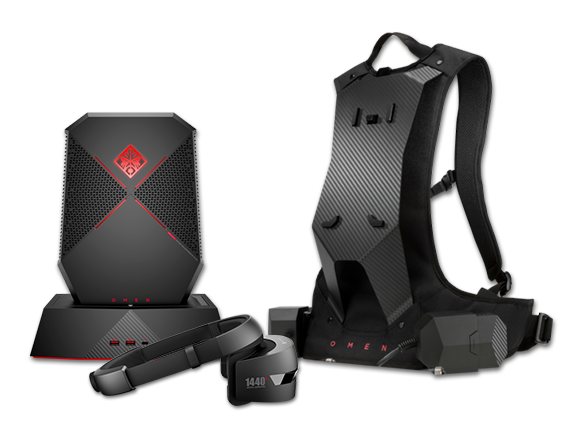 OMEN X VR Gaming Backpack Bundle - Center