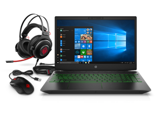 HP Pavilion Gaming Laptop Bundle