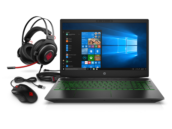 HP Pavilion Gaming Laptop Bundle - Center