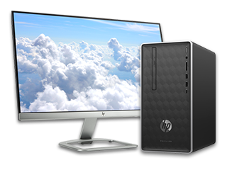 "HP Pavilion Desktop - 590t + 23"" Display Bundle"