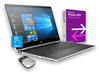 "HP Pavilion x360 - 15"" Convertible Laptop, Power PDF + Wireless Mouse Bundle"