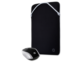 HP 14 Reversible Protective Sleeve + HP Wireless Mouse 200 Bundle - Img_Center_320_240