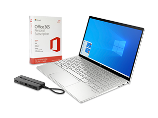 "HP Spectre x360 13"" Laptop, Microsoft Office 365 Personal (download) + Travel Dock Bundle - Img_Center_320_240"