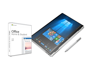 "HP Spectre x360 13"" PC + Microsoft Office 2019 Home & Student Bundle - Img_Center_320_240"