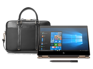 "HP Spectre x360 13"" + Spectre Slim Topload Bundle - Img_Center_320_240"