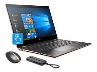 "HP Spectre x360 15"" PC + HP Spectre Rechargeable Mouse + HP Spectre USB-C Dock 2.0 Bundle"