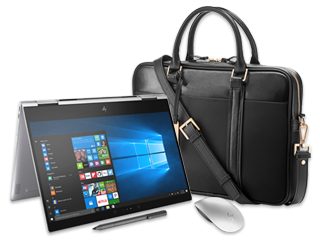 "HP Spectre x360 - 13"" Convertible Laptop, Spectre Topload Case + Bluetooth® Mouse Bundle"