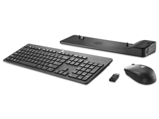 HP UltraSlim Docking Station + Wireless Keyboard and Mouse Bundle - Img_Center_320_240