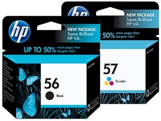 HP 56 & 57 Ink Cartridges