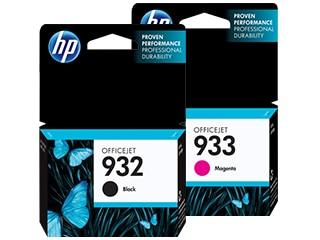HP 932 & 933 Ink Cartridges
