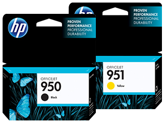 HP 950 & 951 Ink Cartridges