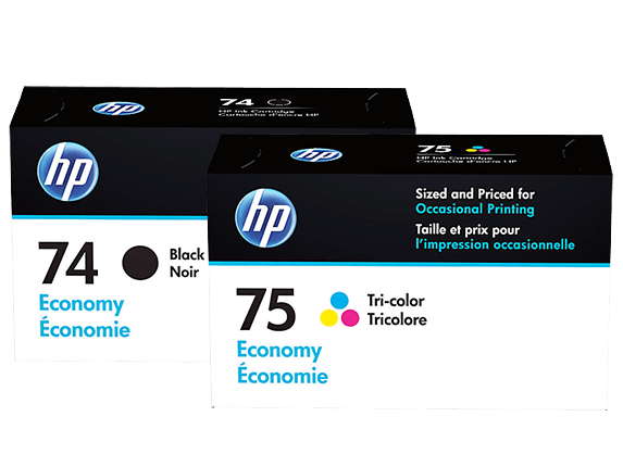 HP Economy Ink 74/75 Bundle
