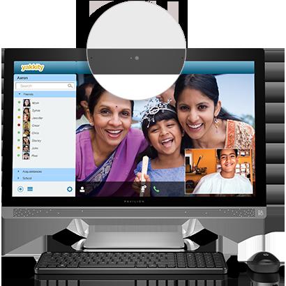 Kết quả hình ảnh cho HP Pavilion 27-a127c All-In-One Desktop