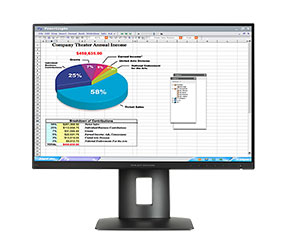 HPZ24n 24-inch Narrow Bezel IPS