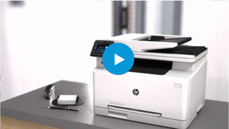 Watch The Video To Learn More About HP Color LaserJet Pro M277dw