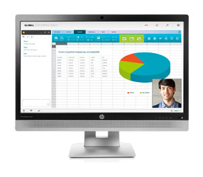 EliteDisplay E240c Video Conferencing Monitor