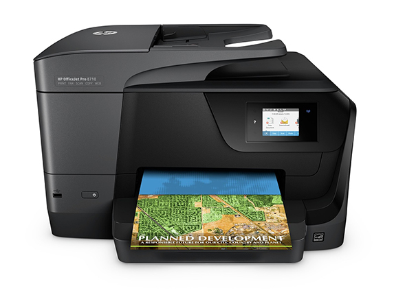מאוד HP® OfficeJet Pro 8710 All In One Instant Ink Ready Printer QX-19