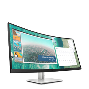 HP E344c Curved Monitor
