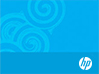 HP Blue Gift Card - Center