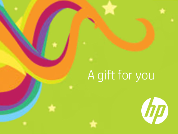 HP Holiday Gift Card