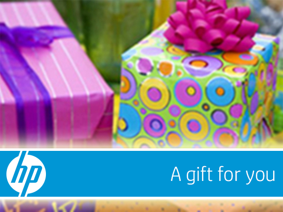 HP Presents e-Gift Card