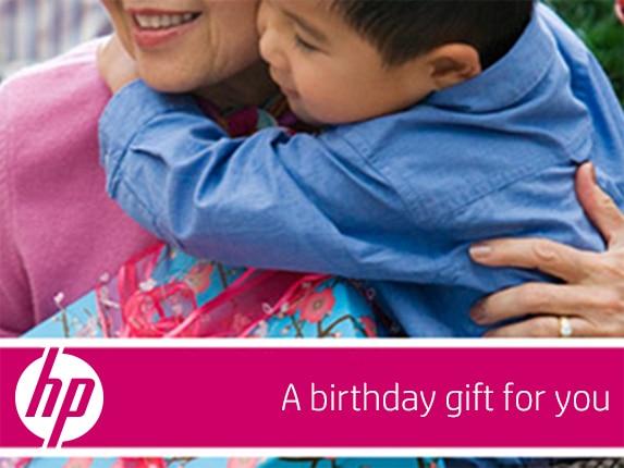 HP Birthday e-Gift Card