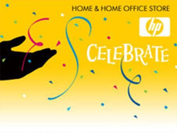 HP Celebrate e-Gift Card