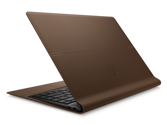 HP Spectre Folio - 13t Laptop - Left rear