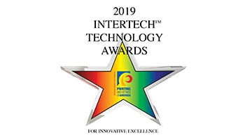 HP PrintOS Color Beat receives the 2019 InterTech™ Technology Award for delivering automated color control.